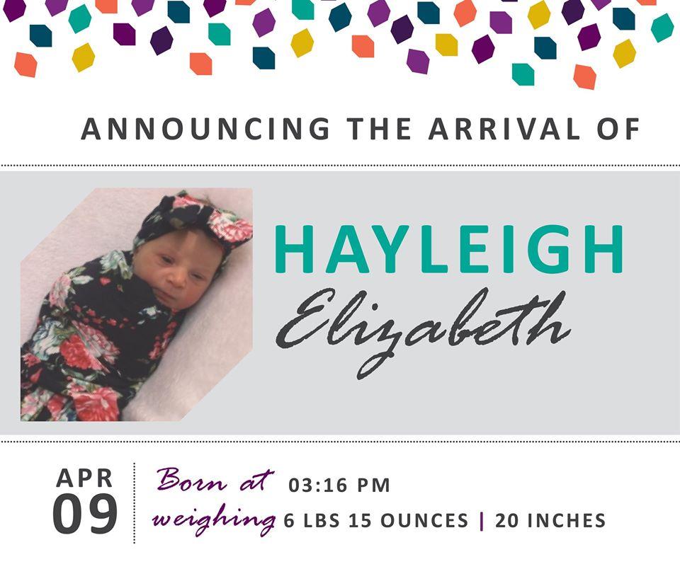 Hayleigh Elizabeth 1