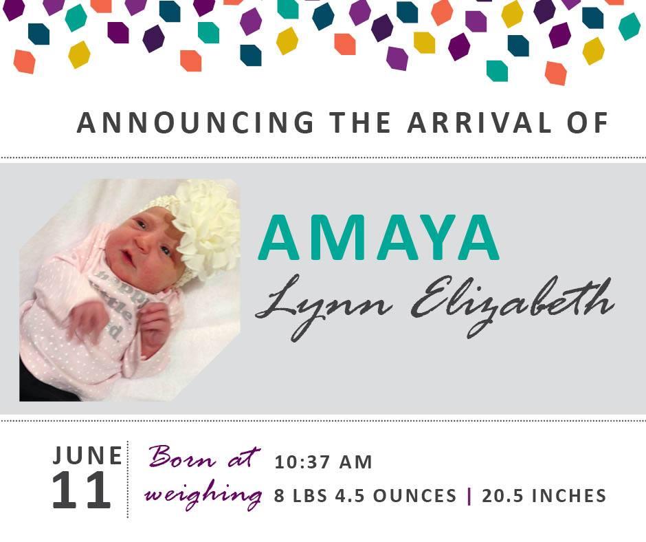 Amaya Lynn Elizabeth 1