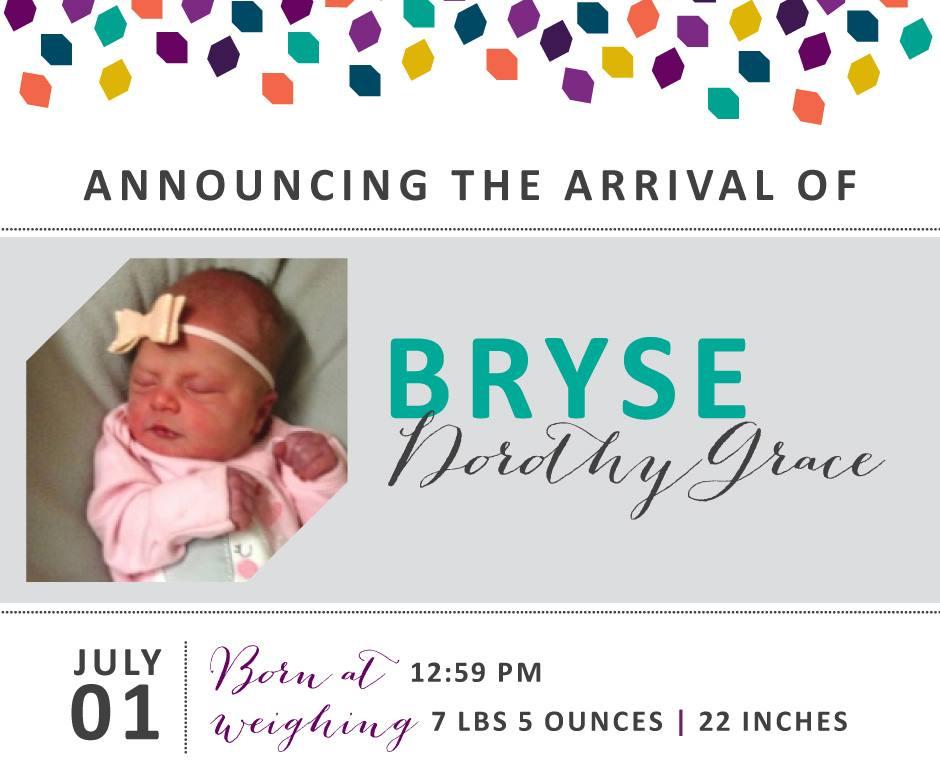 Bryse Dorothy Grace 1