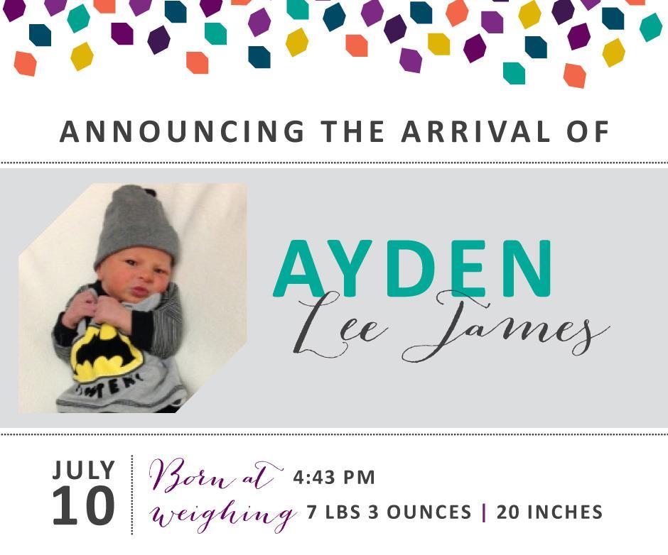 Ayden Lee James 1