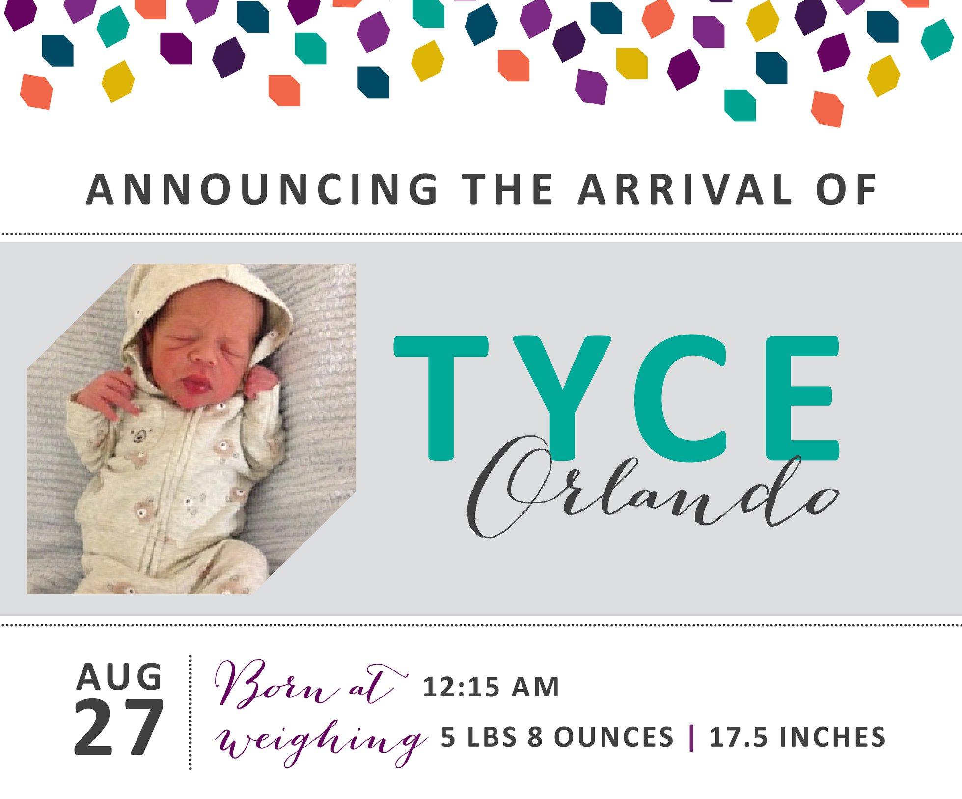 Tyce Orlando 1