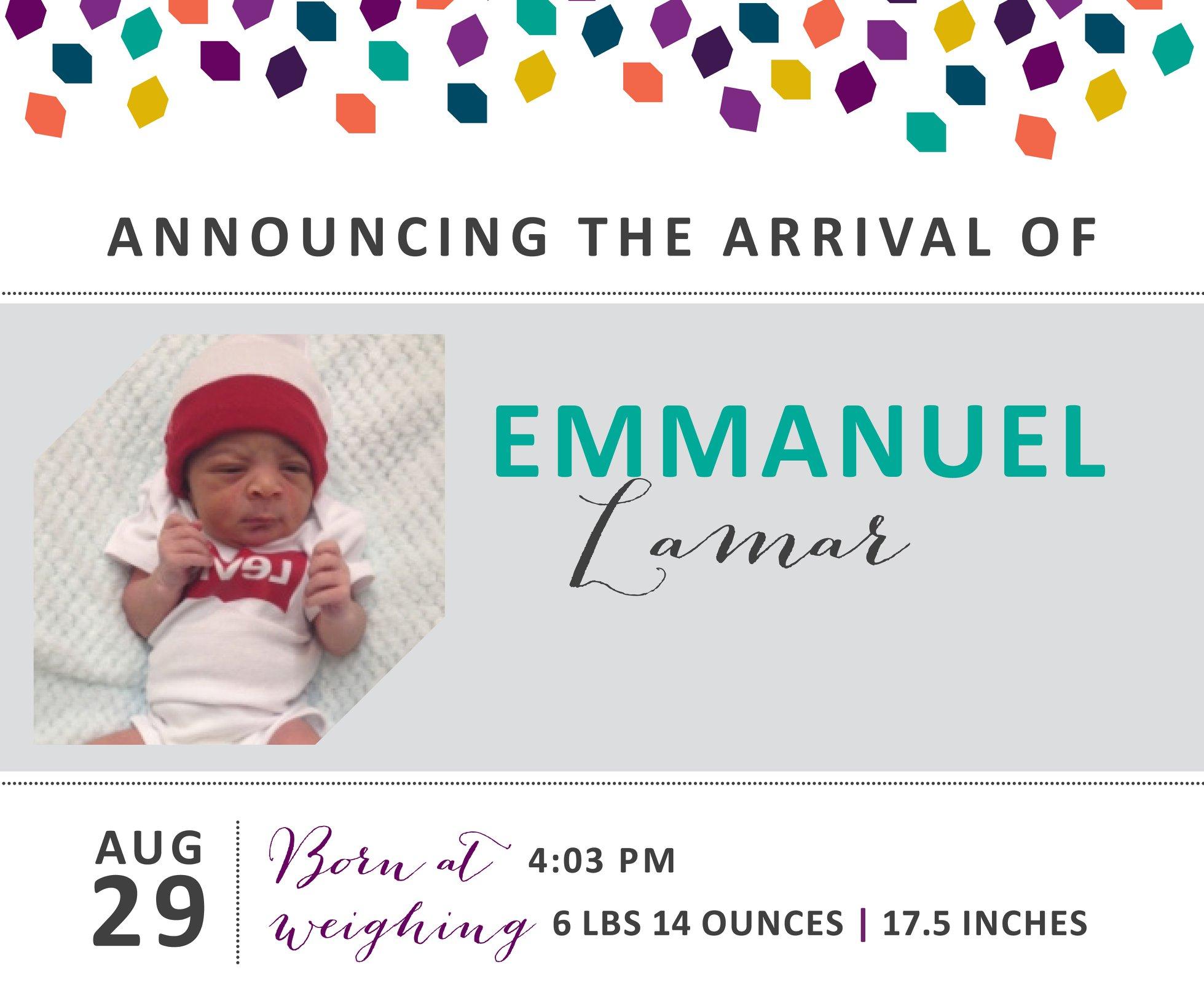 Emmanuel Lamar 1