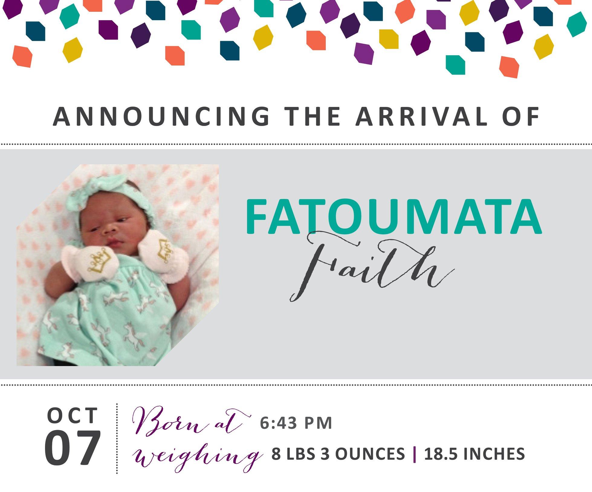Fatoumata Faith 1