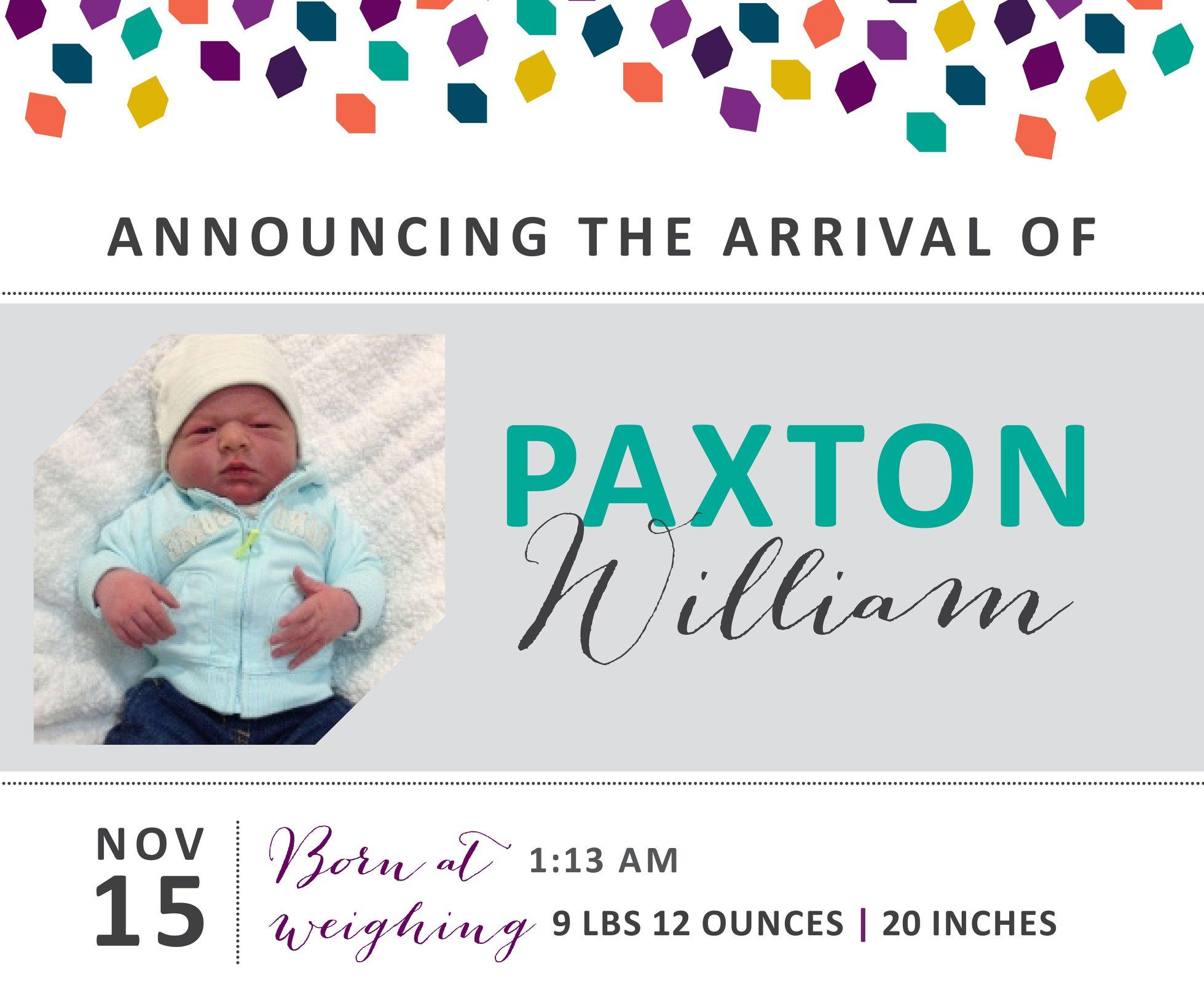 Paxton William 1