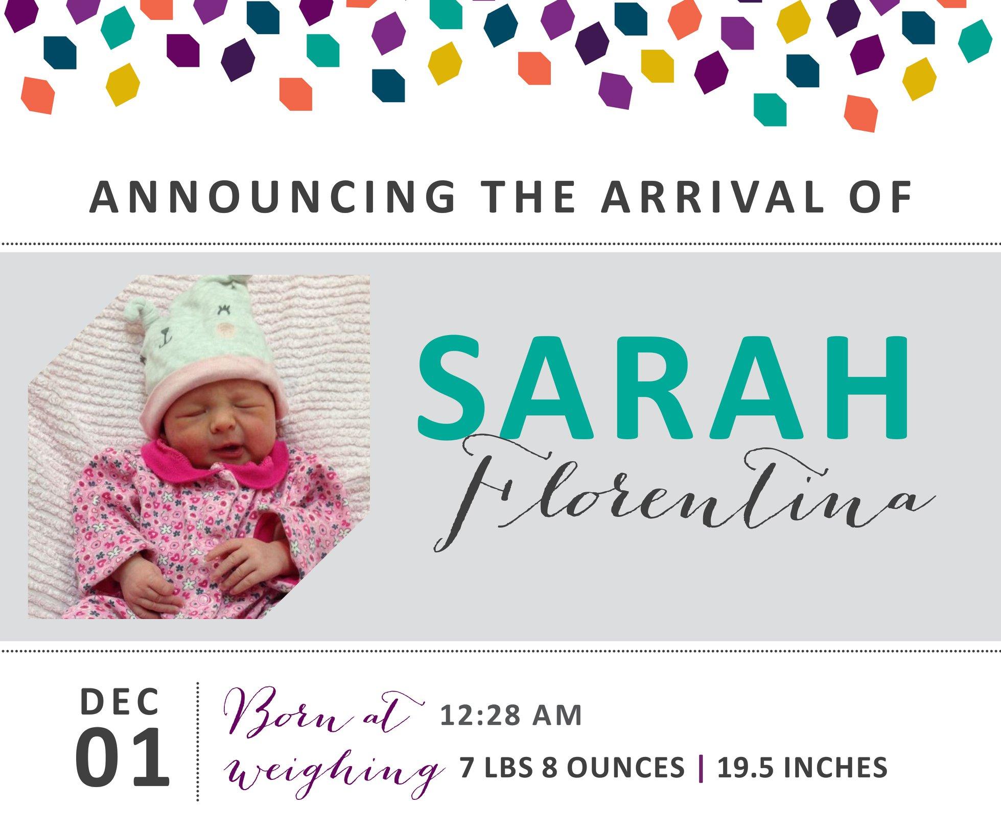 Sarah Florentina 1