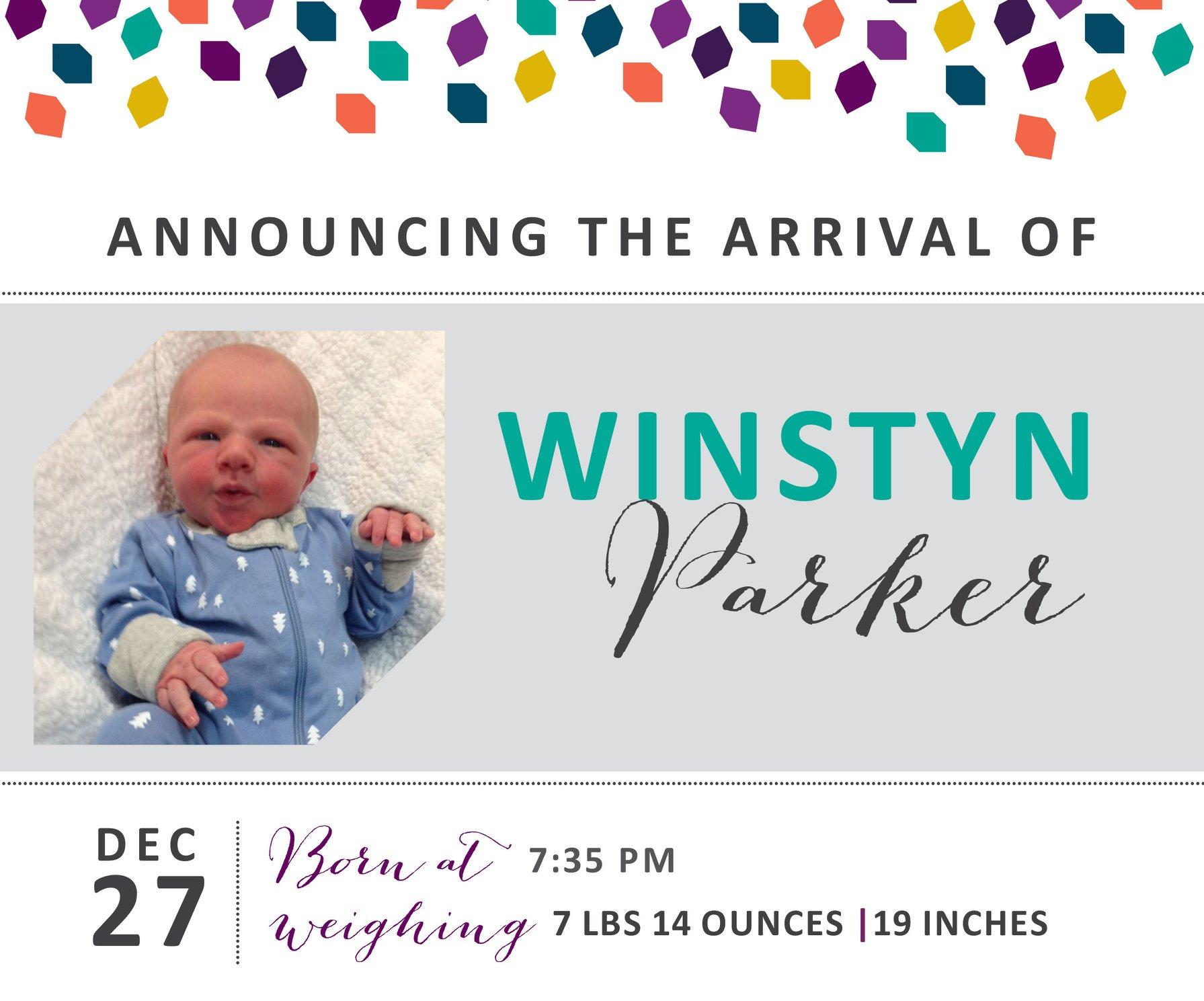 Winstyn Parker 1