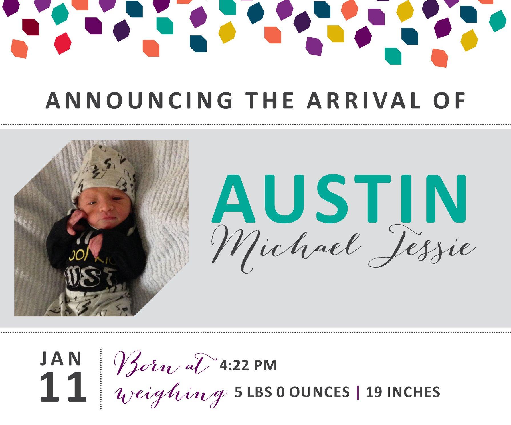 Austin Michael Jessie 1