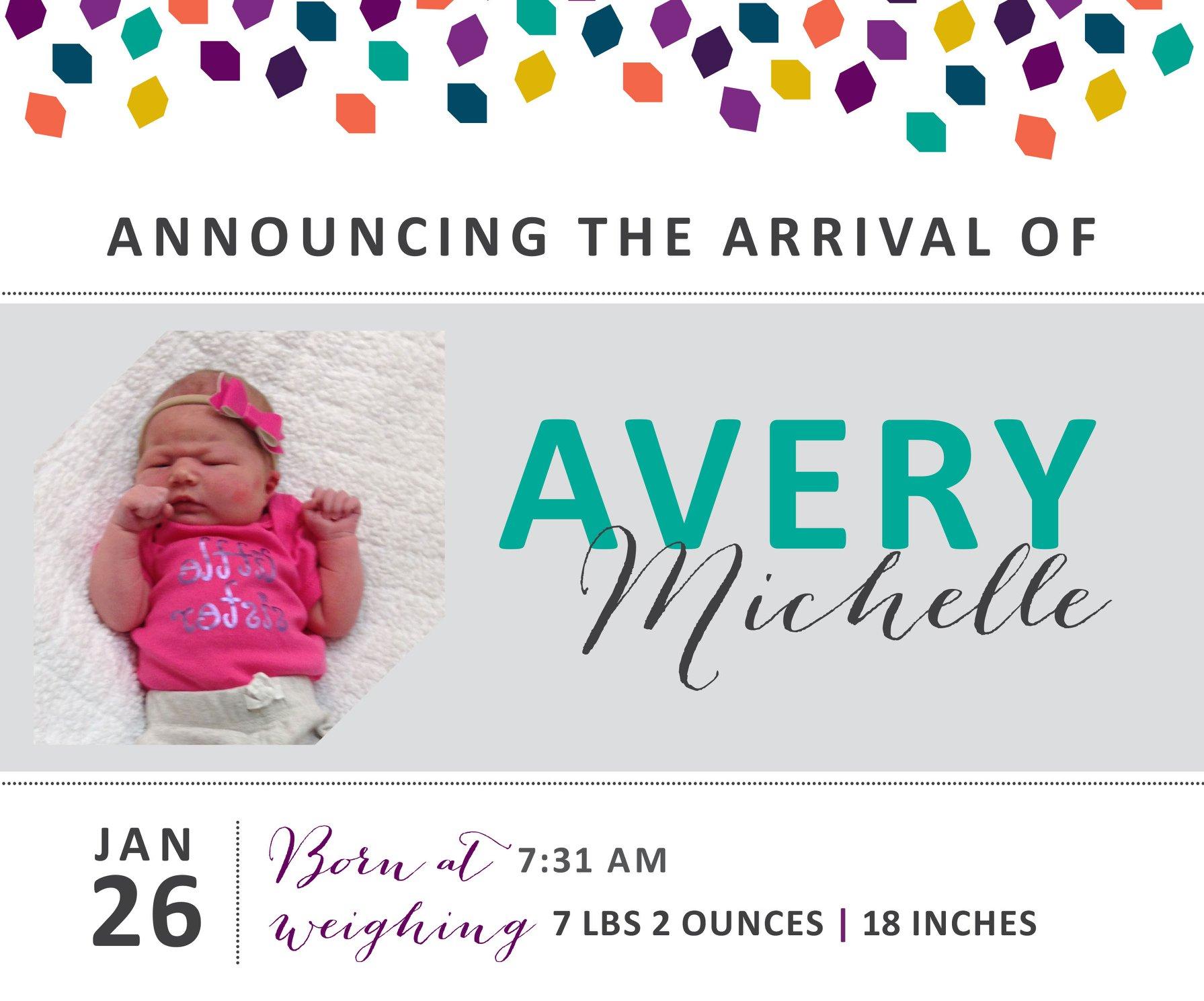 Avery Michelle 1
