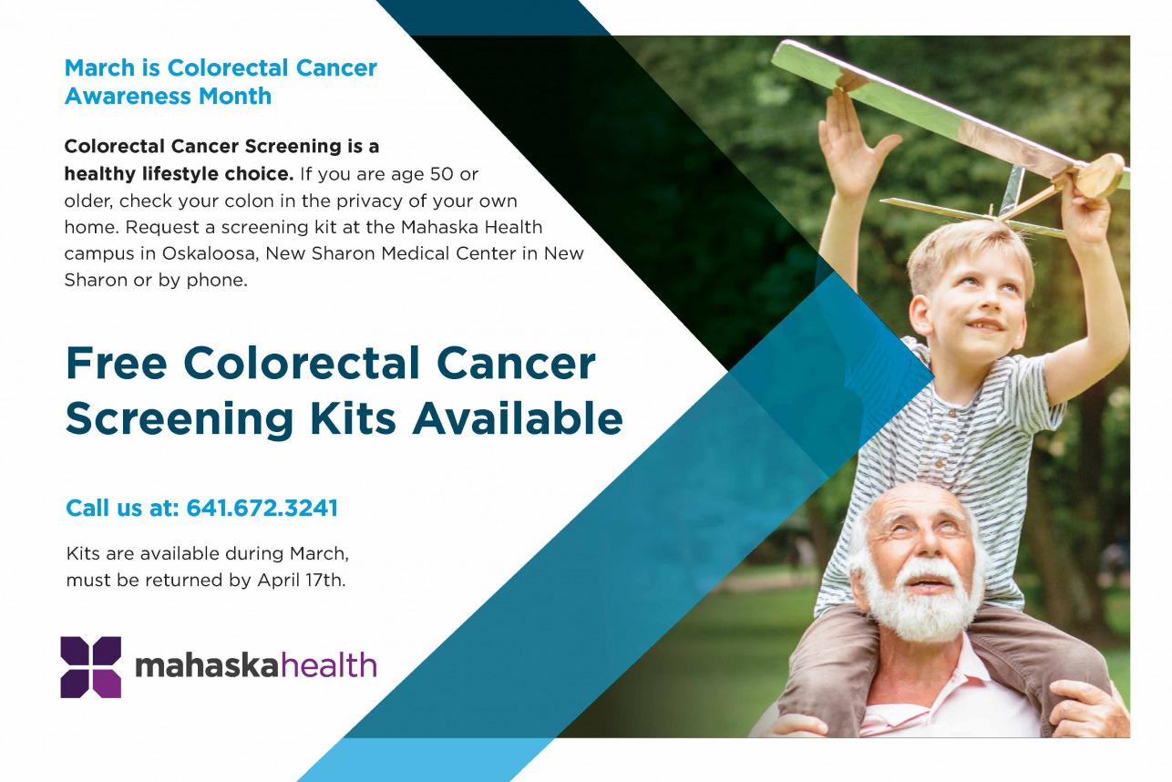 Free Colorectal Screening Kits 1