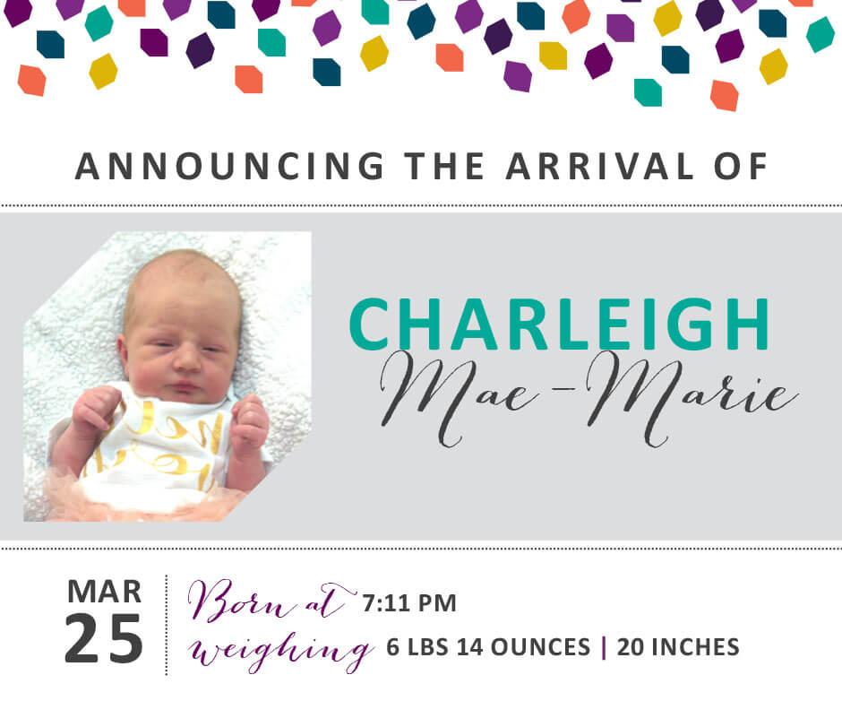 Charleigh Mae Marie 3
