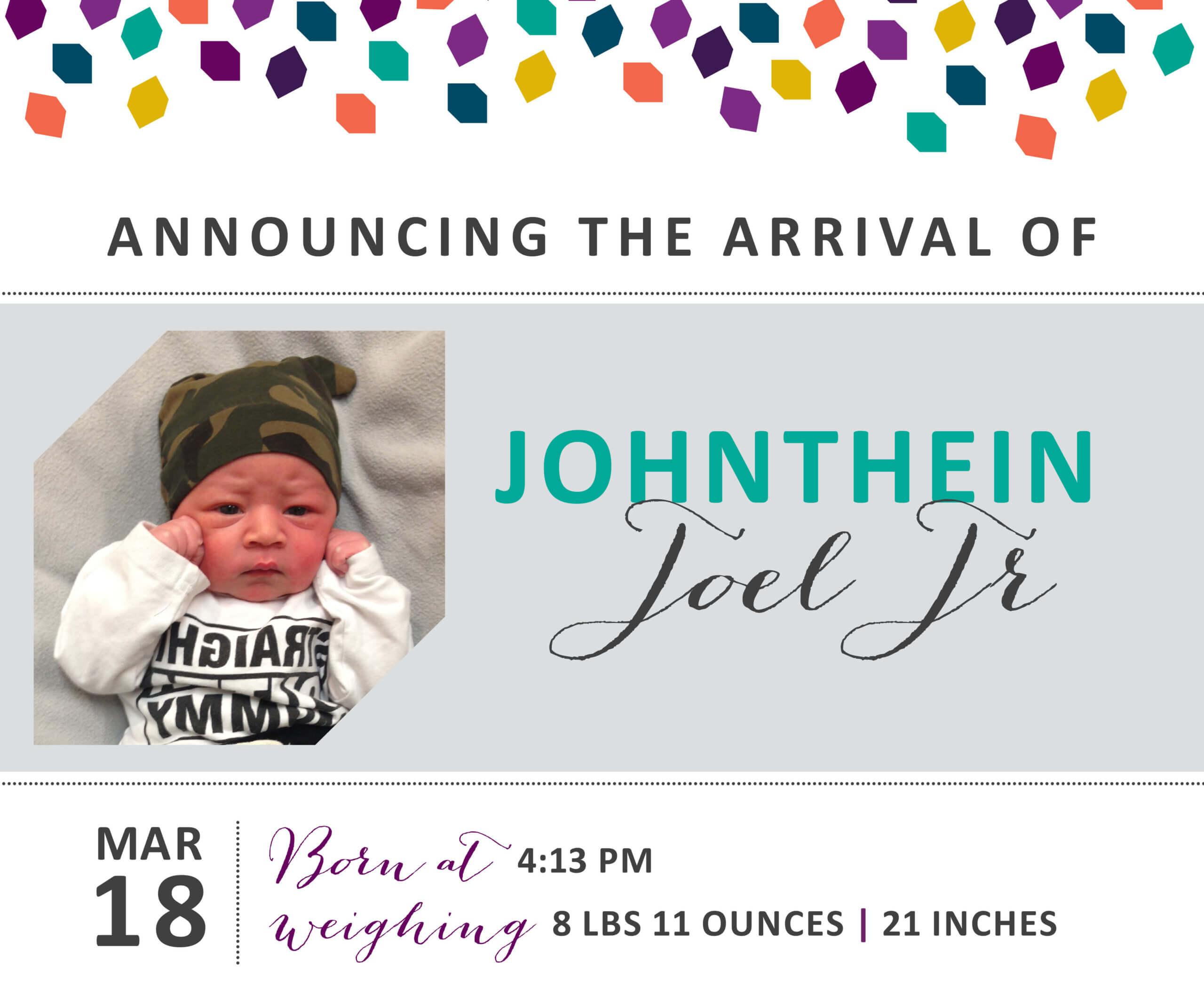 Johnthein Joel Jr 3