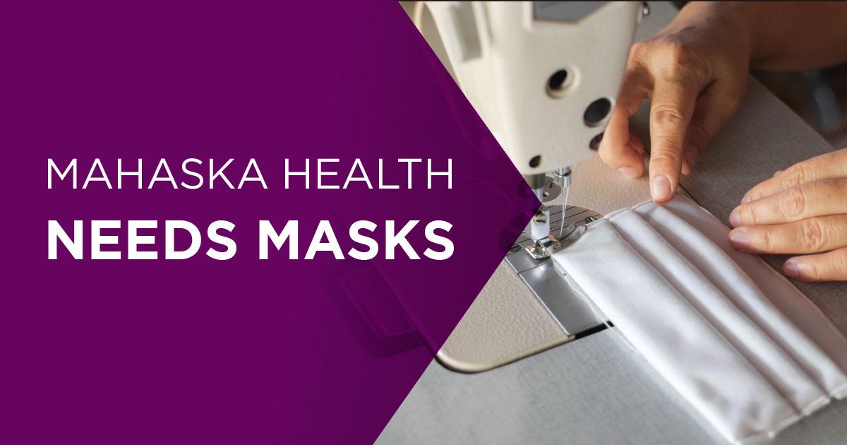Mahaska Health Needs Masks 1