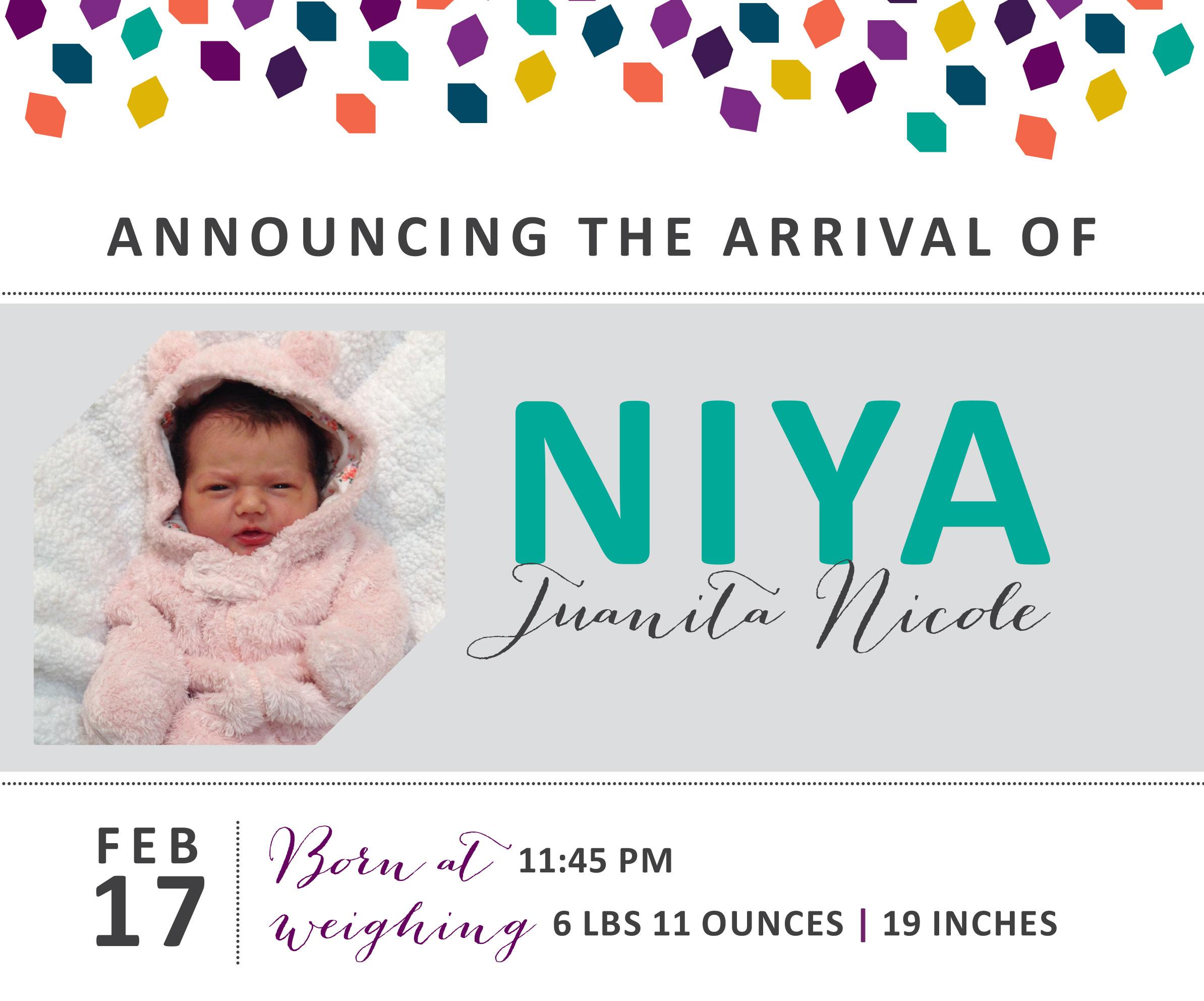 Niya Juanita Nicole 3