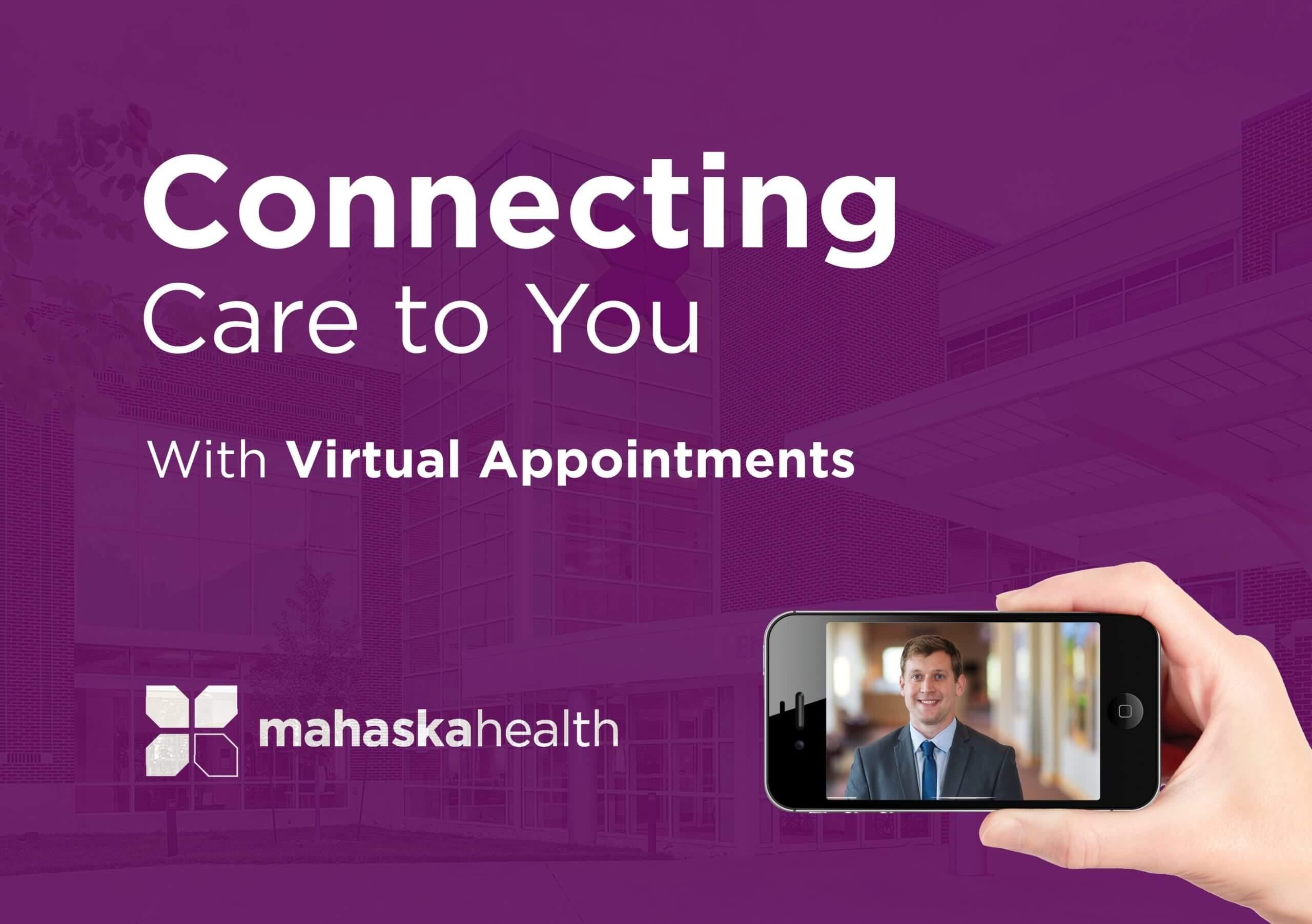 Virtual Appointments Available at Mahaska Health 1