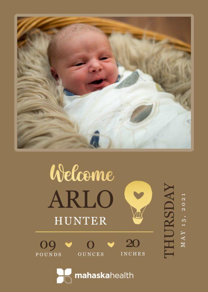 Welcome Arlo Hunter! 6