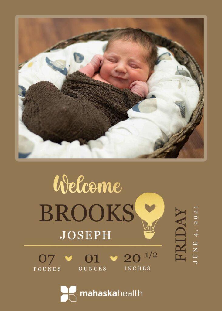 Welcome Brooks Joseph! 6
