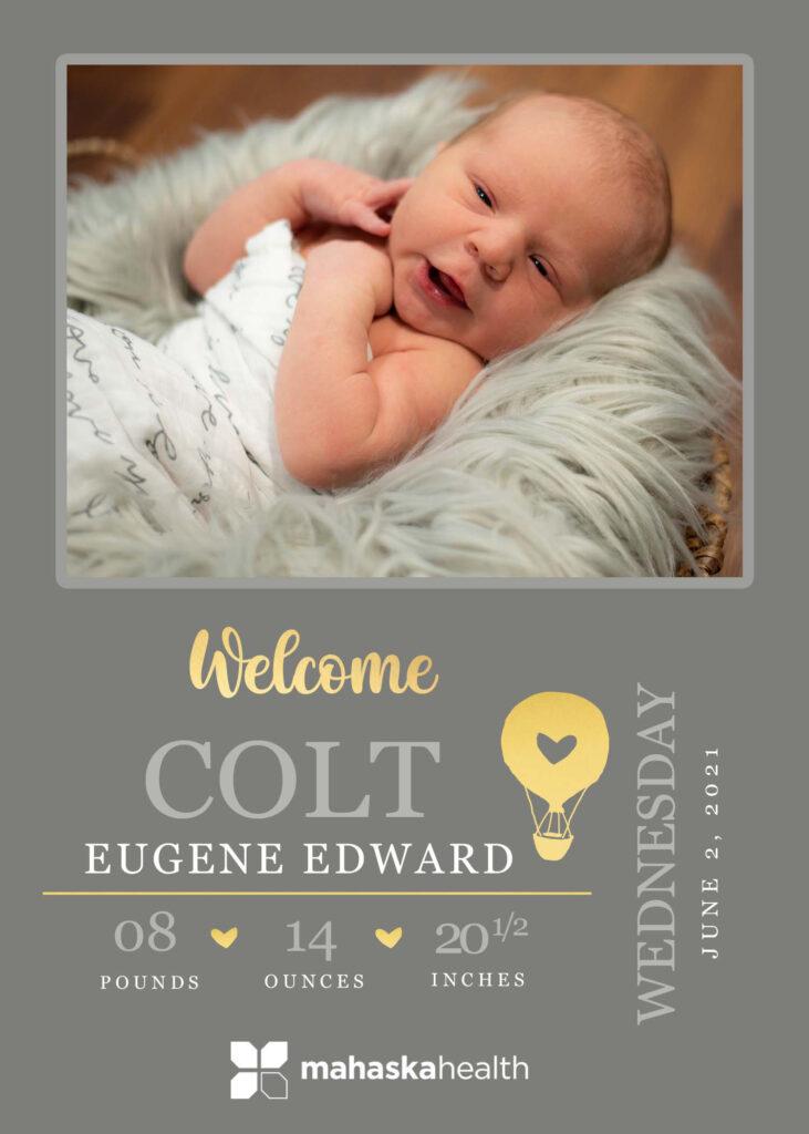 Welcome Colt Eugene Edward! 6
