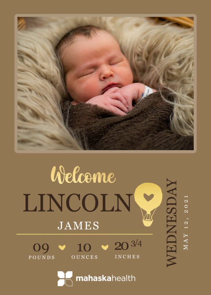 Welcome Lincoln James! 6