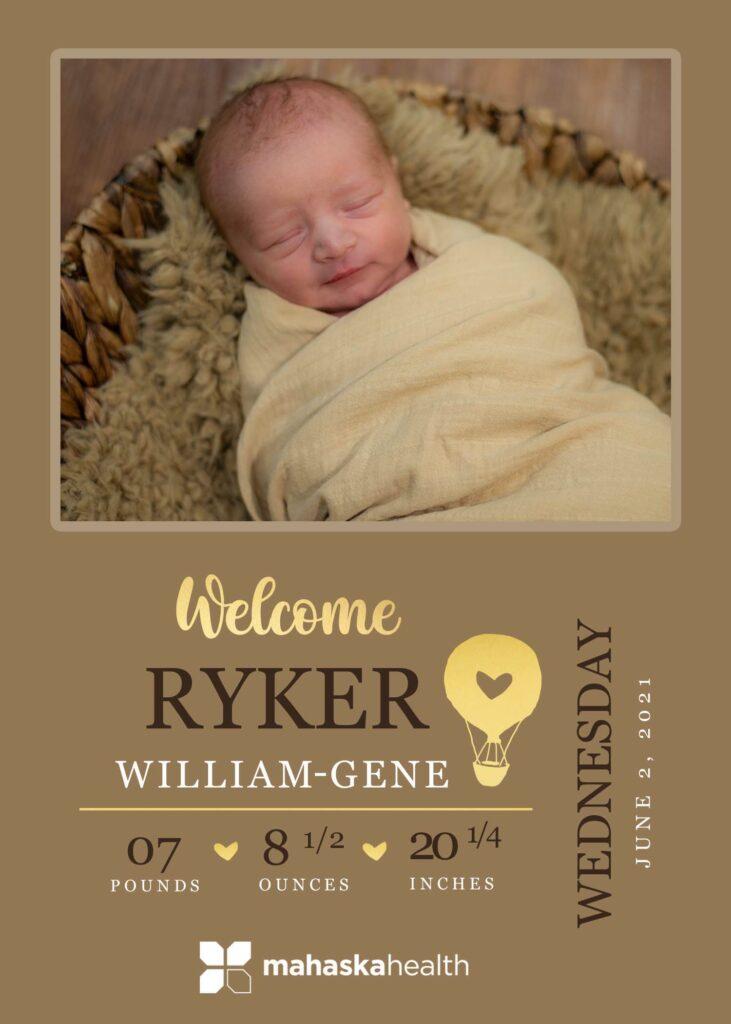 Welcome Ryker William-Gene! 6