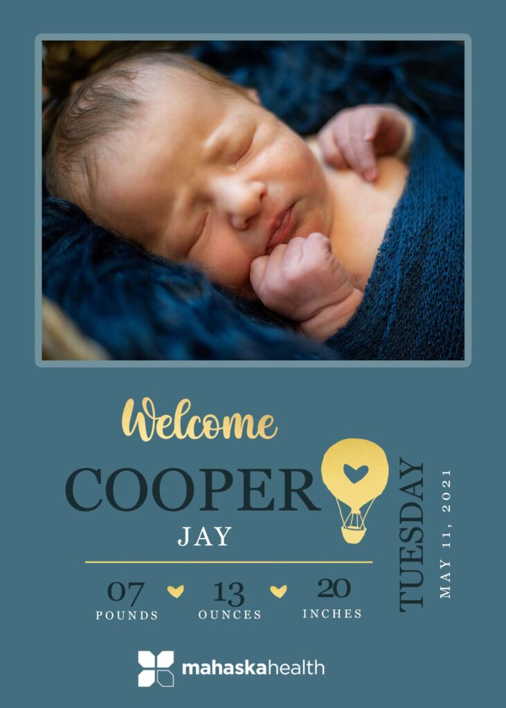 Welcome Cooper Jay! 6