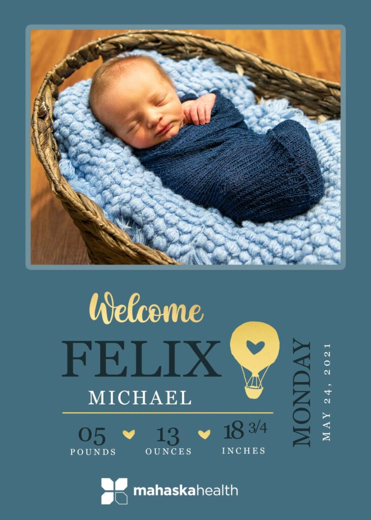 Welcome Felix Michael! 6