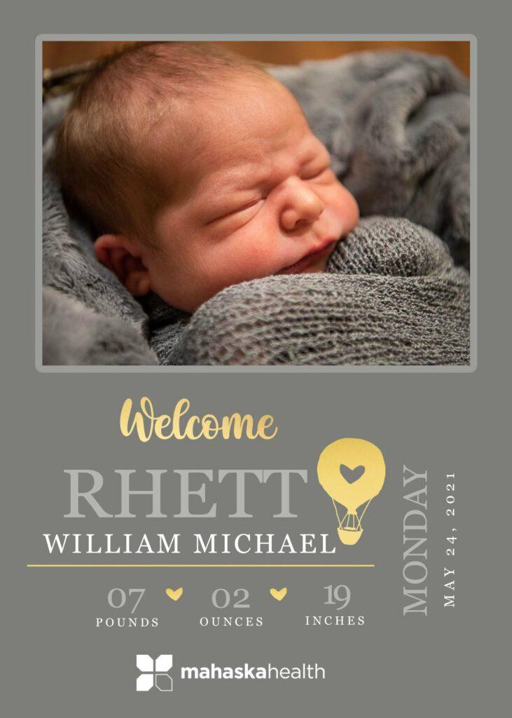 Welcome Rhett William Michael! 6