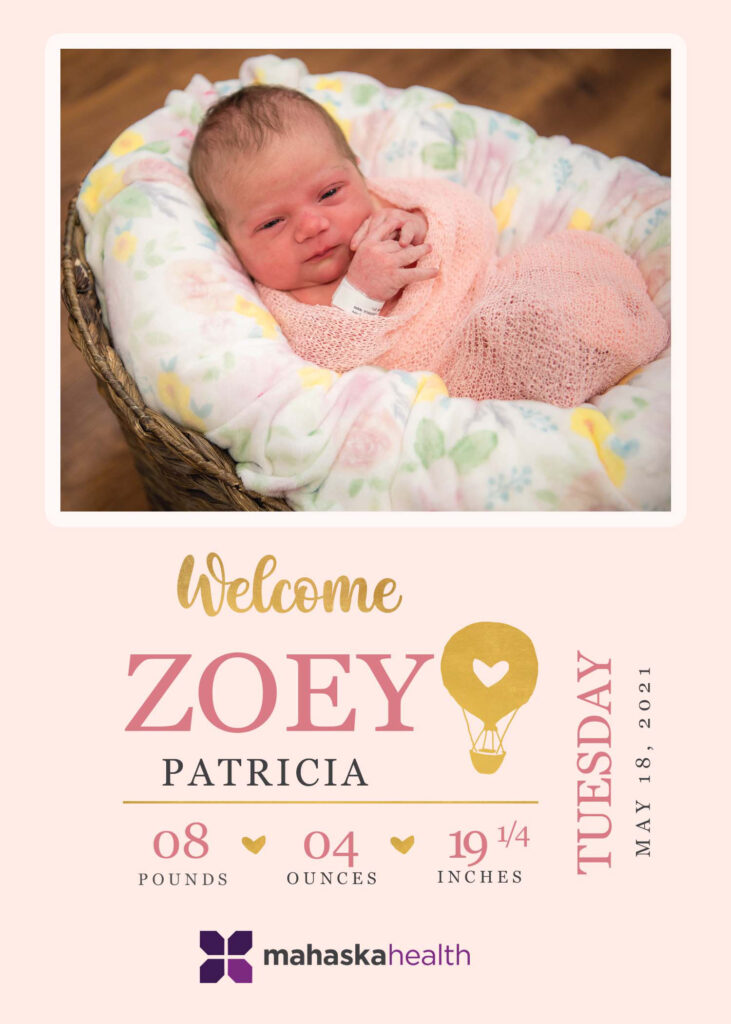 Welcome Zoey Patricia! 6