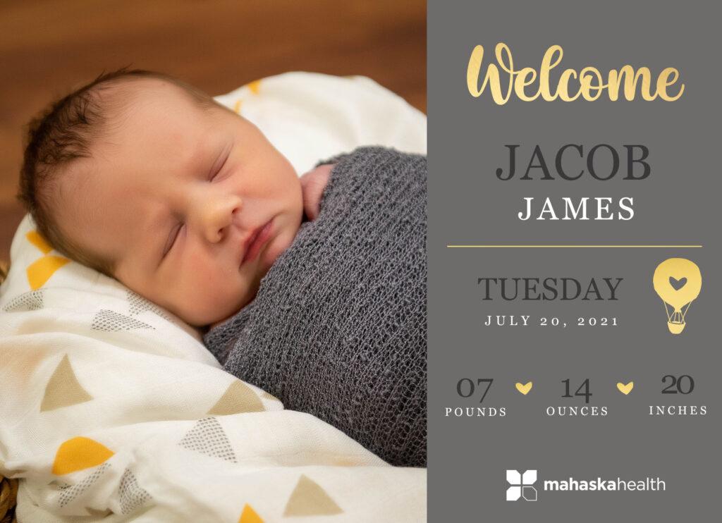 Welcome Jacob James! 6
