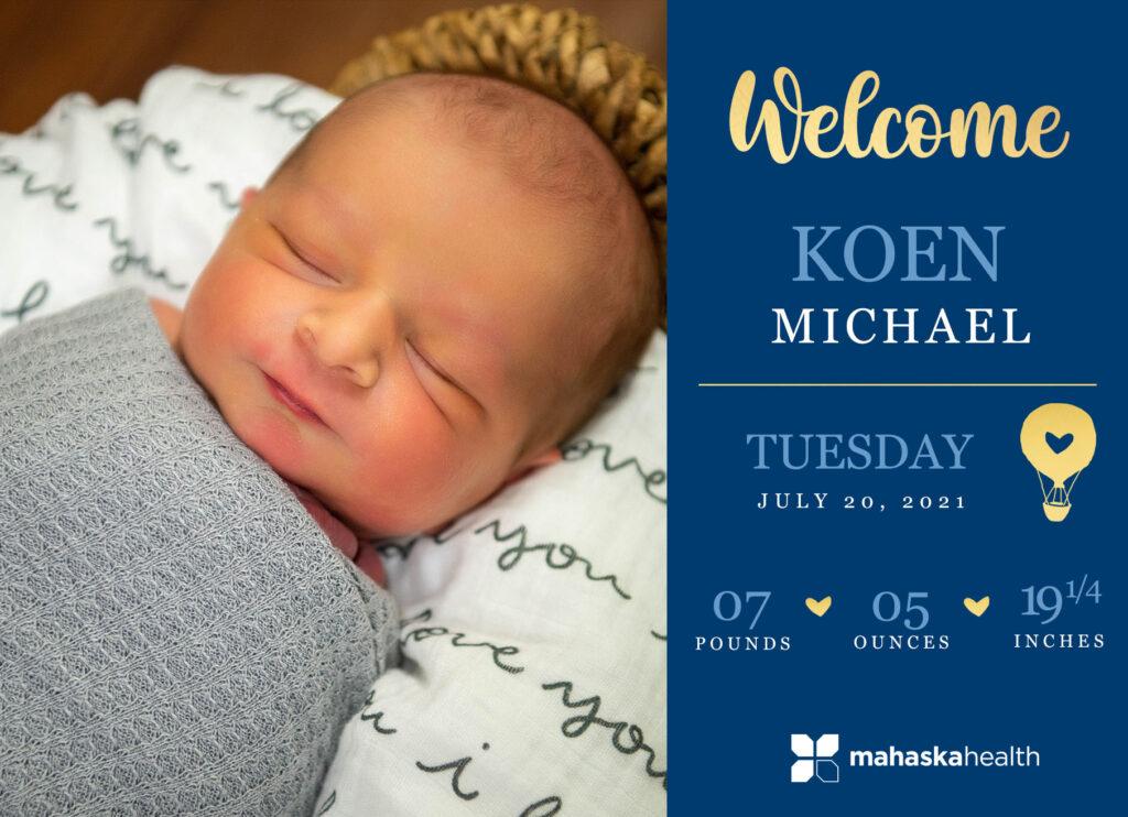 Welcome Koen Michael! 6