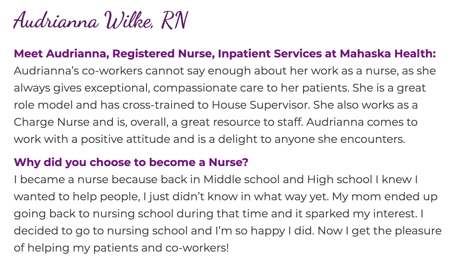 We Are Growing! Join Our Care Team! 5
