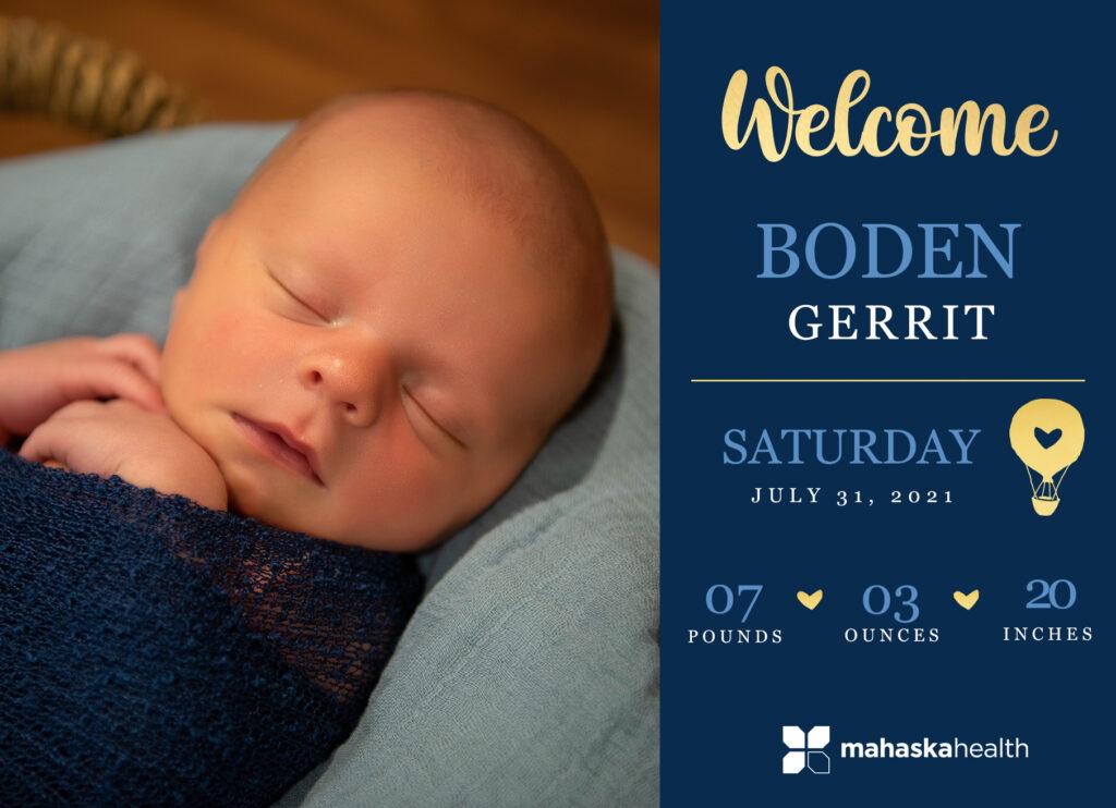 Welcome Boden Gerrit! 6