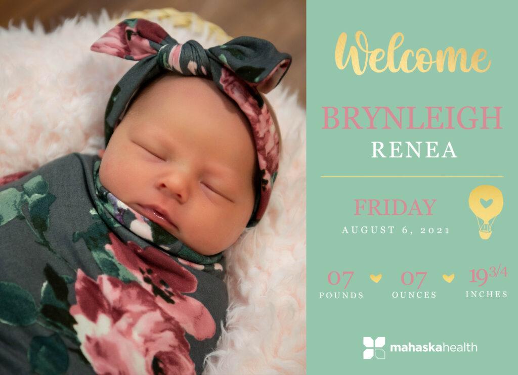 Welcome Brynleigh Renea! 6