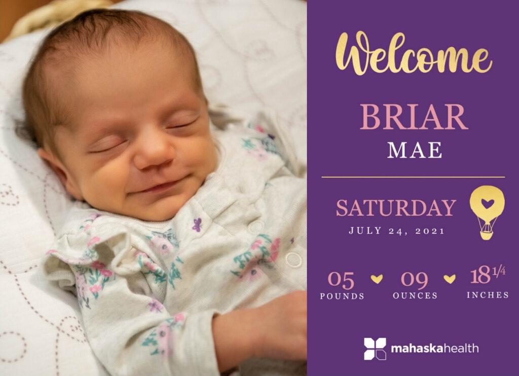 Welcome Briar Mae! 6