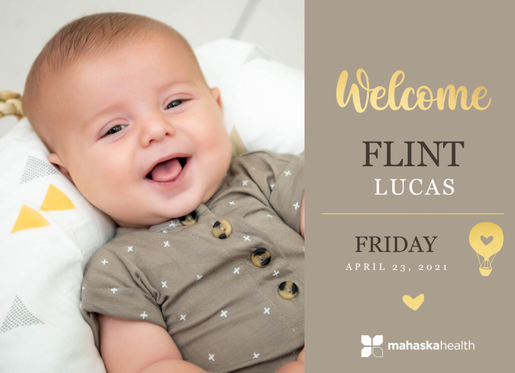 Welcome Flint Lucas! 6