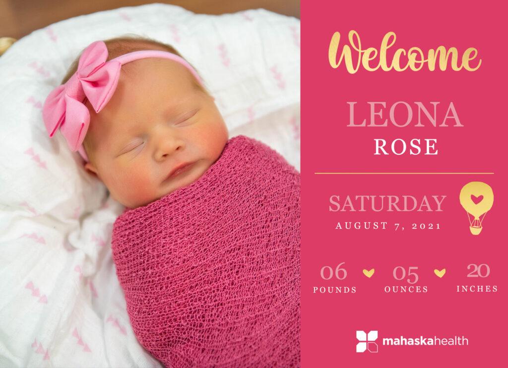 Welcome Leona Rose! 6