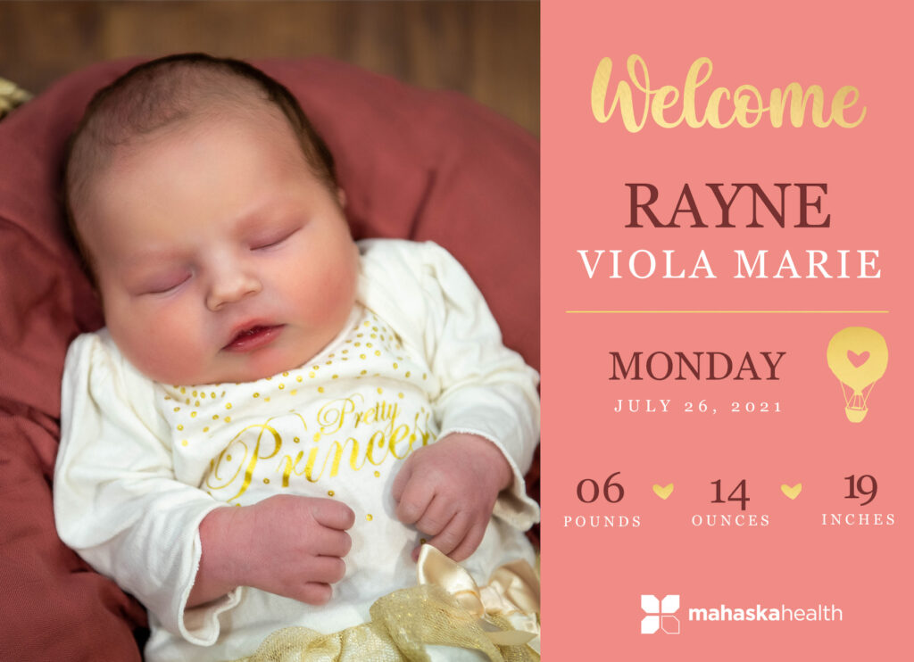 Welcome Rayne Viola Marie! 6