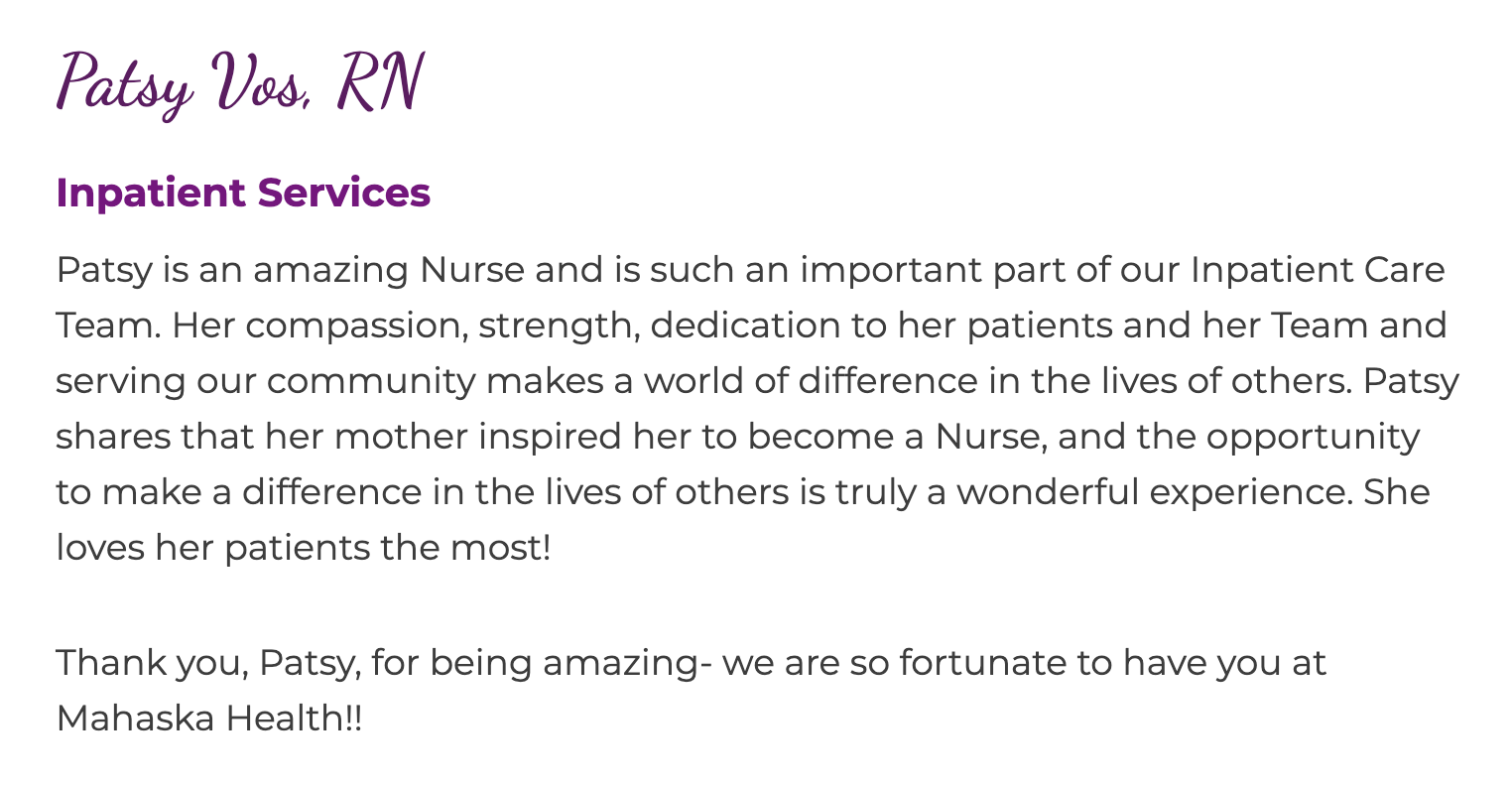 We Are Growing! Join Our Care Team! 7