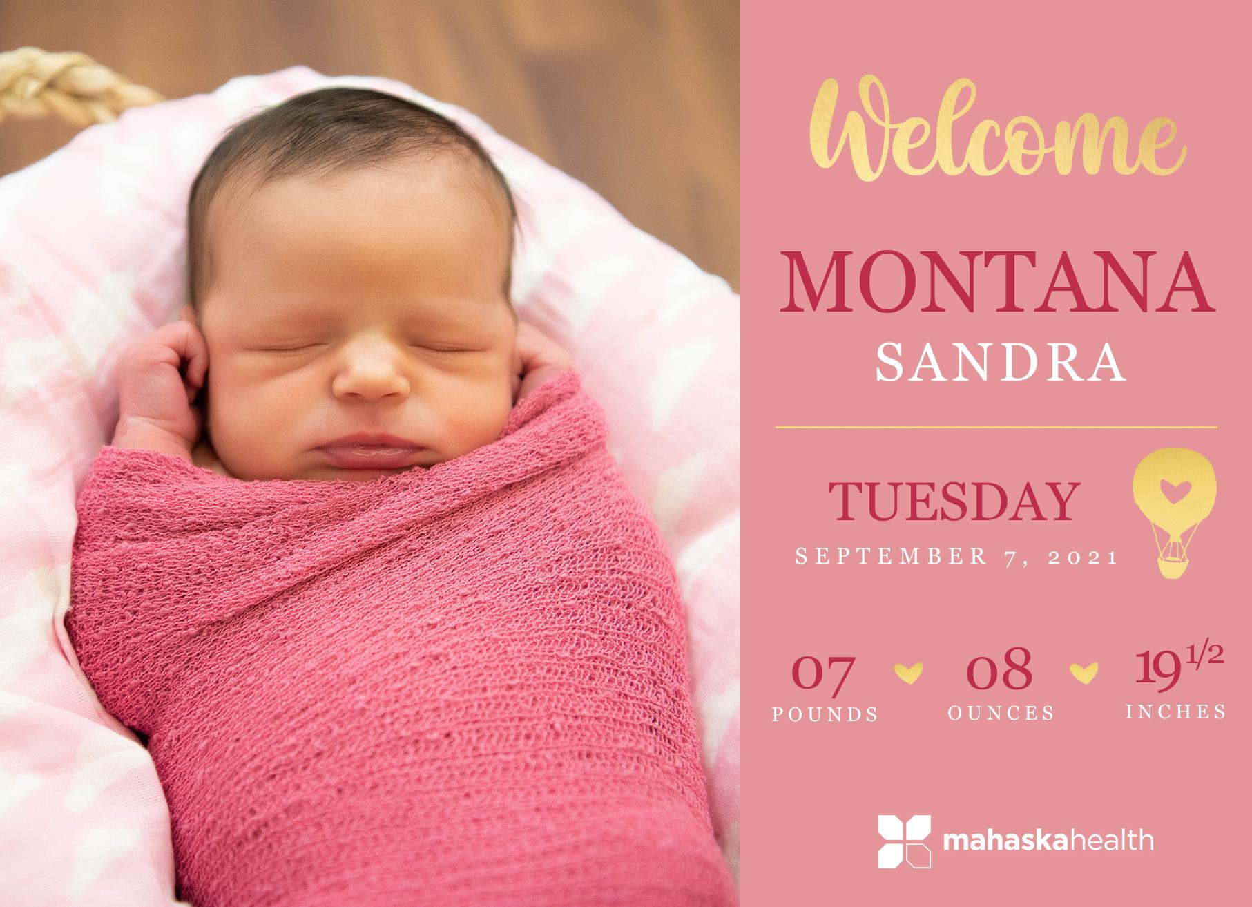Welcome Montana Sandra! 6